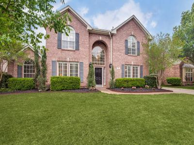 Southlake, Westlake, Trophy Club Single Family Home Active Option Contract: 915 Midland Creek Drive