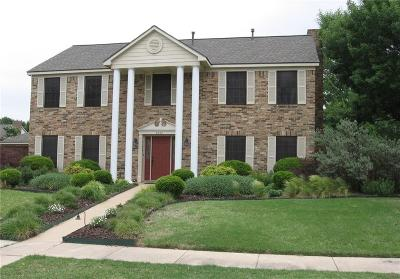 Lewisville Single Family Home For Sale: 2059 Briarcliff Road
