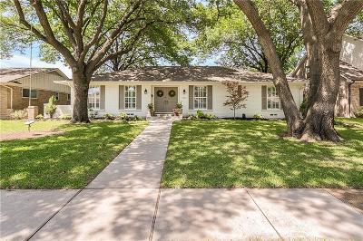Richardson Single Family Home Active Option Contract: 1322 Chickasaw Drive