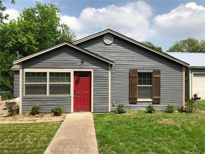 Weatherford Single Family Home For Sale: 707 Jackson Street