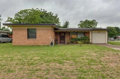 Irving Single Family Home Active Contingent: 1321 Sunnybrook Drive