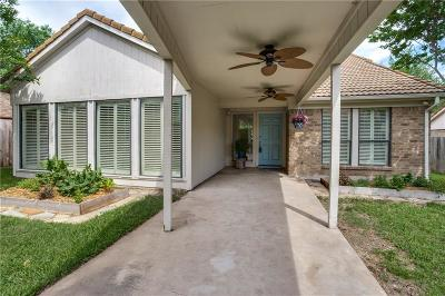 Benbrook Single Family Home Active Option Contract: 54 Legend Road
