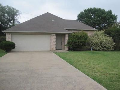Rowlett Single Family Home Active Option Contract: 7513 Beverly Drive