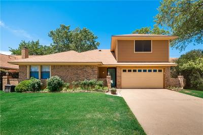 Bedford Single Family Home For Sale: 3109 Brightwood Court