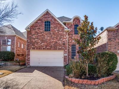 Irving Single Family Home For Sale: 436 Lacebark Drive