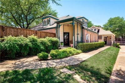 Dallas Single Family Home Active Option Contract: 18031 Whispering Gables Lane