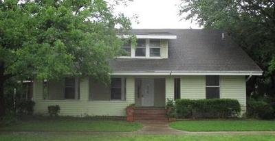 Wills Point Single Family Home For Sale: 450 E James Street