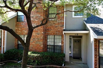 Carrollton Townhouse For Sale: 2800 Keller Springs Road #12D