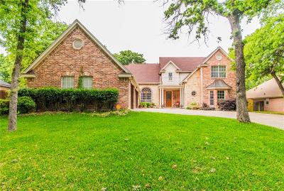 Azle Single Family Home Active Contingent: 1617 Anchor Way