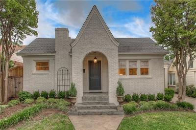 Fort Worth Single Family Home For Sale: 3771 W 4th Street
