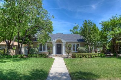 Fort Worth Single Family Home Active Option Contract: 2021 Hillcrest Street