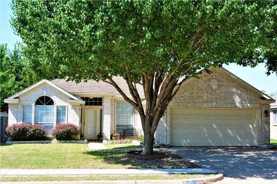 Haltom City Single Family Home Active Option Contract: 5660 Rockport Lane