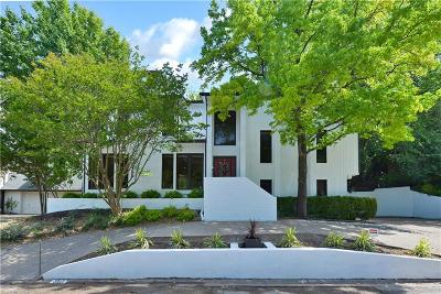 Fort Worth Single Family Home Active Option Contract: 3417 Bellaire Park Court