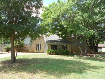 Abilene Single Family Home For Sale: 1301 Canterbury Drive