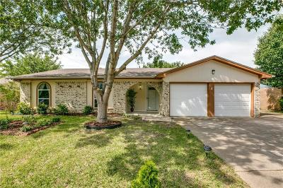 Burleson Single Family Home Active Option Contract: 509 Linda Drive