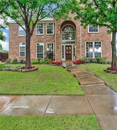 Keller Single Family Home Active Contingent: 1621 Highland Oaks Drive