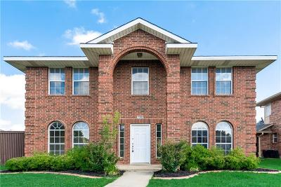 Rowlett Single Family Home Active Option Contract: 7505 Colfax Drive
