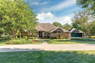 Weatherford Single Family Home Active Option Contract: 3121 Cimmarron Road
