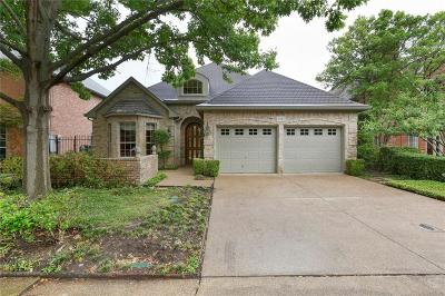 Dallas Single Family Home For Sale: 1543 Waterside Court