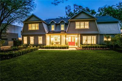 Dallas Single Family Home For Sale: 8222 San Benito Way