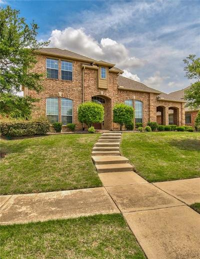 Frisco Single Family Home Active Contingent: 5190 Highland Hills Drive