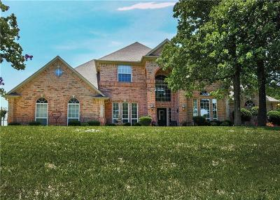 Burleson Single Family Home Active Contingent: 3424 Wild Oaks Court
