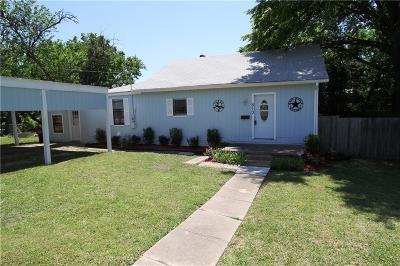 Farmersville Single Family Home Active Option Contract: 513 Pendleton Street