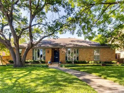 Dallas Single Family Home For Sale: 10935 Ridgemeadow Drive