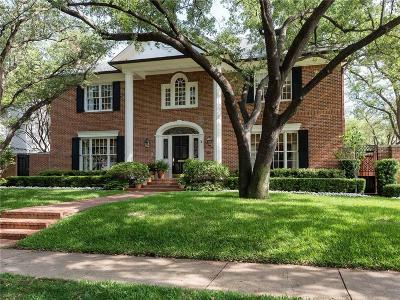 Highland Park Single Family Home Active Option Contract: 4300 Livingston Avenue