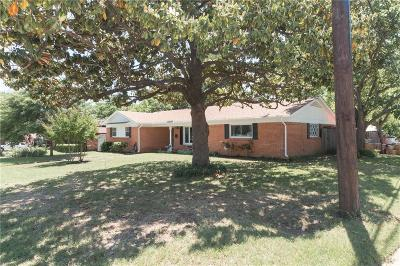 Fort Worth Single Family Home Active Contingent: 4800 Hollowbrook Road