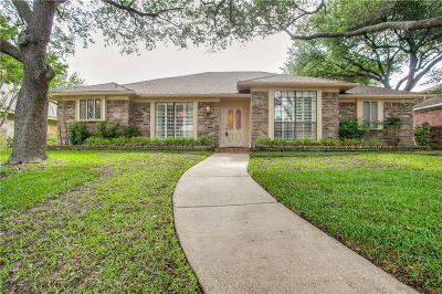 Dallas Single Family Home Active Option Contract: 10310 Cimmaron Trail