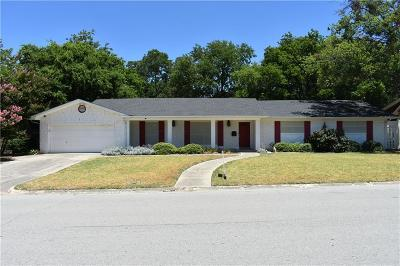 Benbrook Single Family Home For Sale: 8120 Bangor Drive