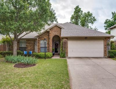 Flower Mound Single Family Home Active Contingent: 1805 Chatham Drive
