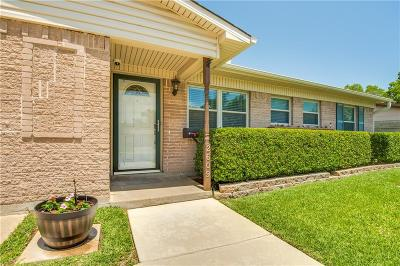Irving Single Family Home Active Option Contract: 2609 Anderson Street