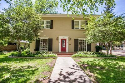 Abilene Single Family Home For Sale: 774 Elmwood Drive