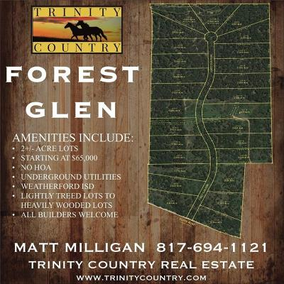 Weatherford Residential Lots & Land For Sale: Lot 22 Forest Glen Road