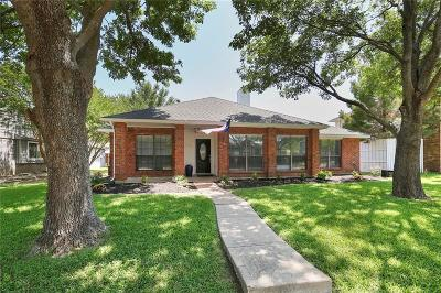 Plano Single Family Home Active Option Contract: 3832 Parkmont Drive