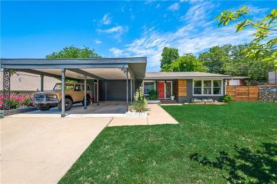 Single Family Home Active Contingent: 6112 Ridgeway Street