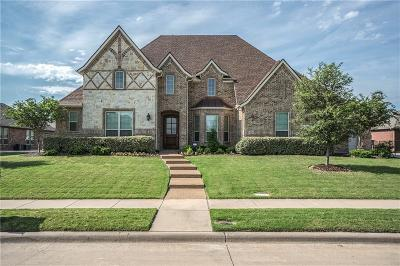 Wylie Single Family Home Active Option Contract: 919 Lorene Drive