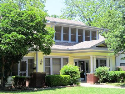 Farmersville Single Family Home Active Option Contract: 210 S Rike Street