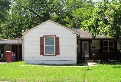 Farmersville Single Family Home Active Option Contract: 311 N Main Street