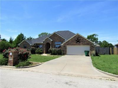 Stephenville Single Family Home For Sale: 1545 Glenwood Drive