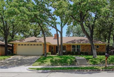 Hurst, Euless, Bedford Single Family Home Active Option Contract: 3004 Willow Lane