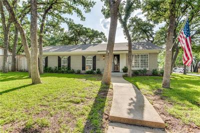 Bedford, Euless, Hurst Single Family Home For Sale: 1409 Cedar Ridge Terrace