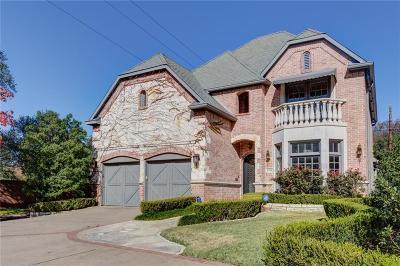 Dallas Single Family Home For Sale: 4596 Belfort Avenue