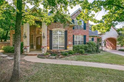 Keller Single Family Home Active Contingent: 1113 Jericho Court
