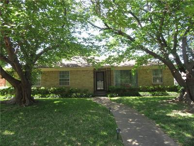 Dallas Single Family Home For Sale: 5812 Marview Lane
