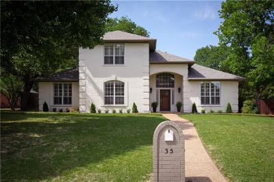 Denton Single Family Home Active Option Contract: 35 Timbergreen Circle