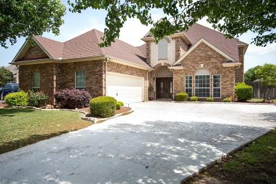 Mansfield Single Family Home Active Option Contract: 1116 Brook Arbor Drive