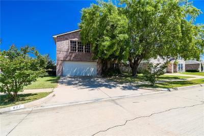 Arlington, Mansfield Single Family Home For Sale: 827 Bigfork Drive